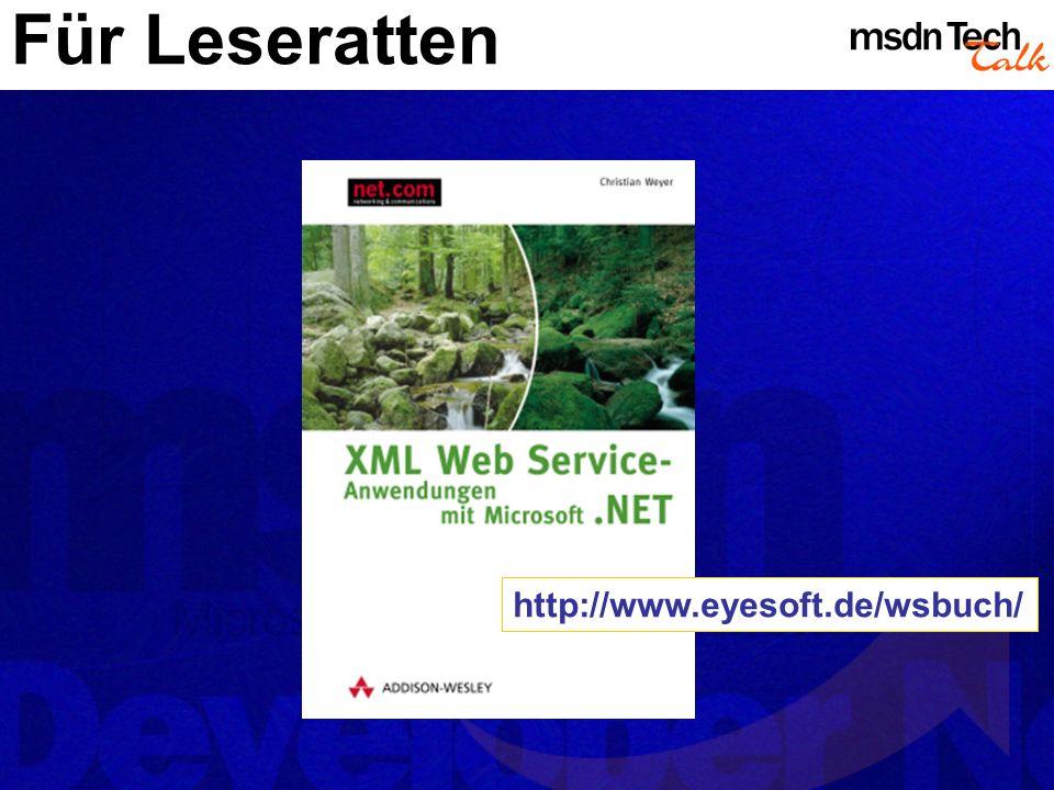 Für Leseratten http://www.eyesoft.de/wsbuch/