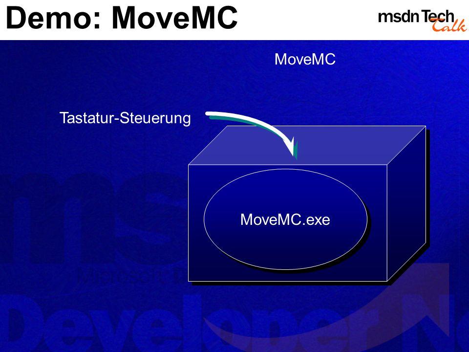 Demo: MoveMC MoveMC Tastatur-Steuerung MoveMC.exe