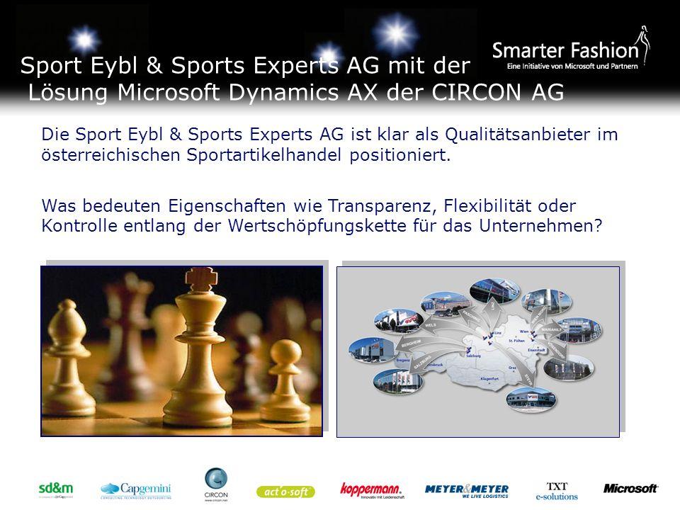 Die Sport Eybl & Sports Experts AG ist klar als Qualitätsanbieter im österreichischen Sportartikelhandel positioniert.