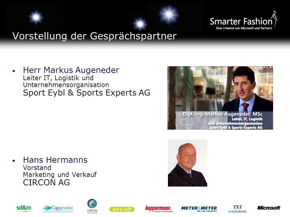 Vorstellung der Sport Eybl & Sports Experts AG