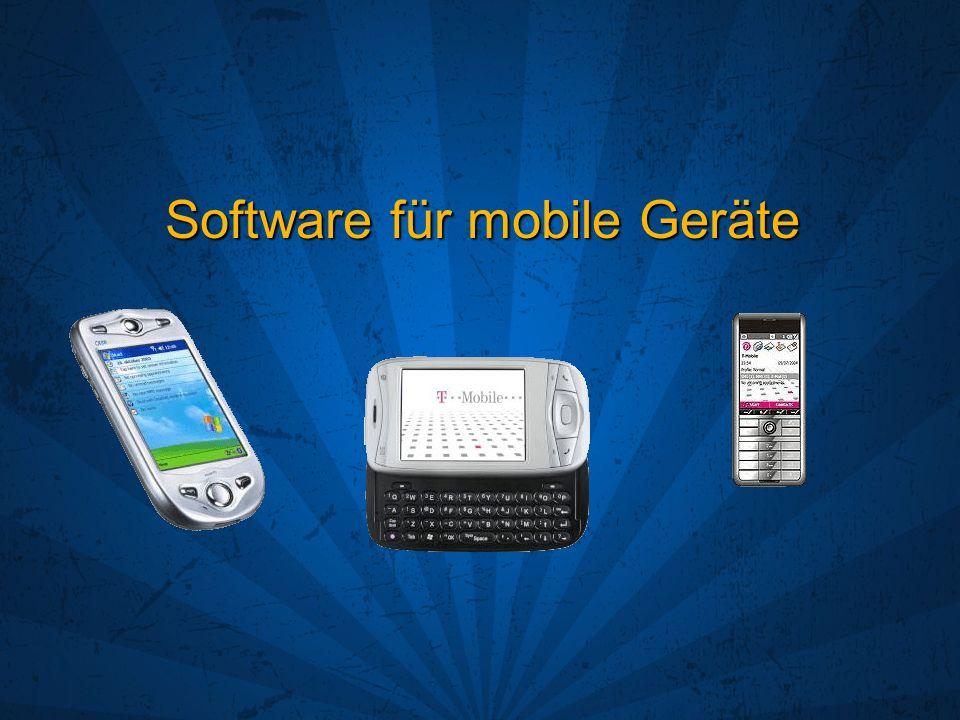 Software für mobile Geräte