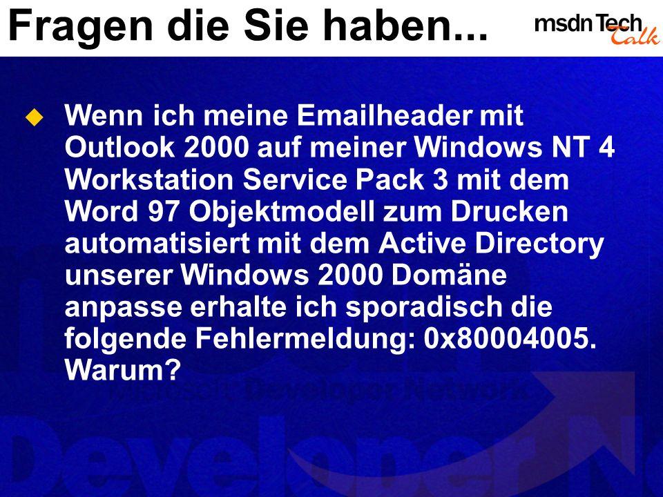 Deployment.Mehrere Möglichkeiten VS.NET, InstallShield, etc...