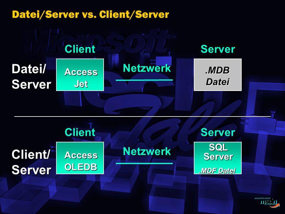 Datei/Server vs.