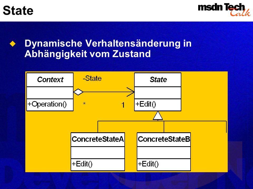 Aktivitätendiagramme Dynamisches Modell Flussdiagramm mit Parallelflüssen und Synchronisation Nützlich für: Paralleles Verhalten Wie verschiedene Use Cases miteinander zusammenhängen