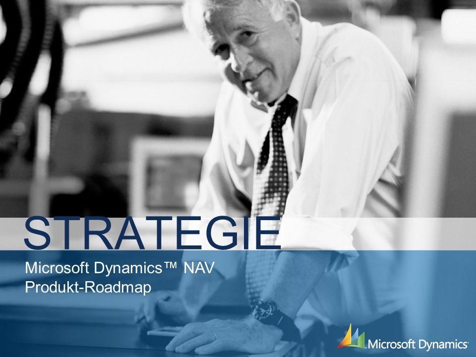 Microsoft Dynamics NAV Produkt-Roadmap STRATEGIE