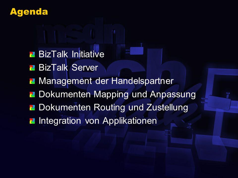 Inhalt dieses TechTalk Funktionsweise und Aufgaben des BizTalk Servers Dokumentenaustausch Integration von Applikationen Wo ist der Developer gefragt .