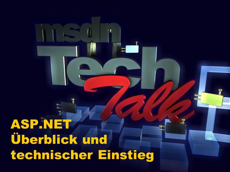 ASP.NET Überblick und technischer Einstieg