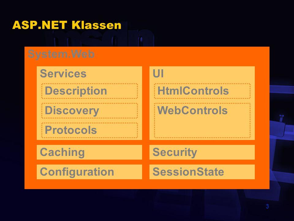 44 HTTP Handler Handler-Komponente erstellen Komponente in das bin-Verzeichnis der Anwendung kopieren Den HTTP-Handler der Anwendung per CONFIG.WEB bekannt machen <configuration> </configuration>
