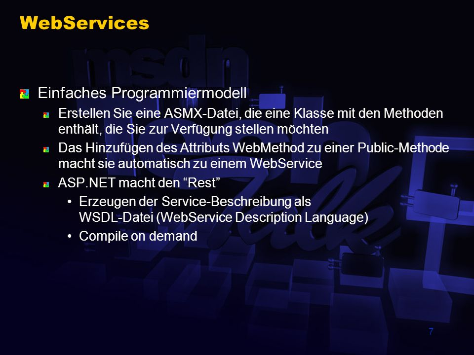 8 WebServices