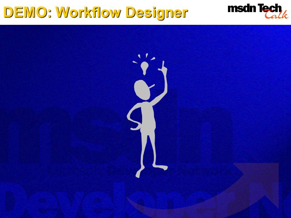 DEMO: Workflow Designer