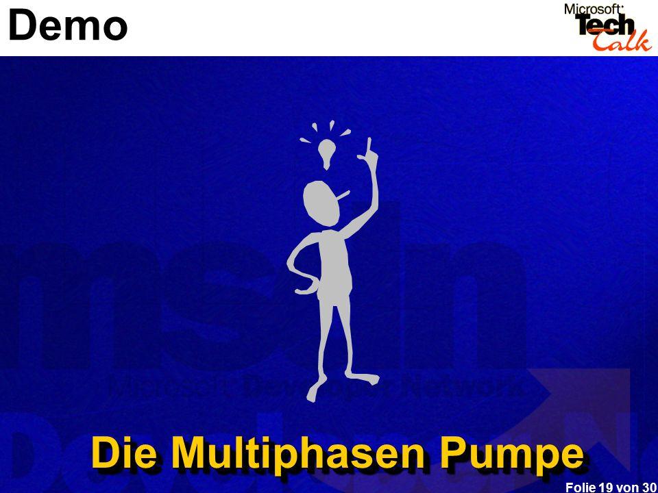 Folie 19 von 30 Demo Die Multiphasen Pumpe