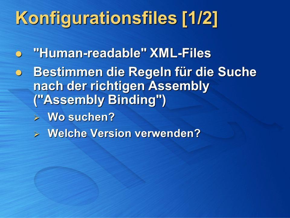 Konfigurationsfiles [1/2]