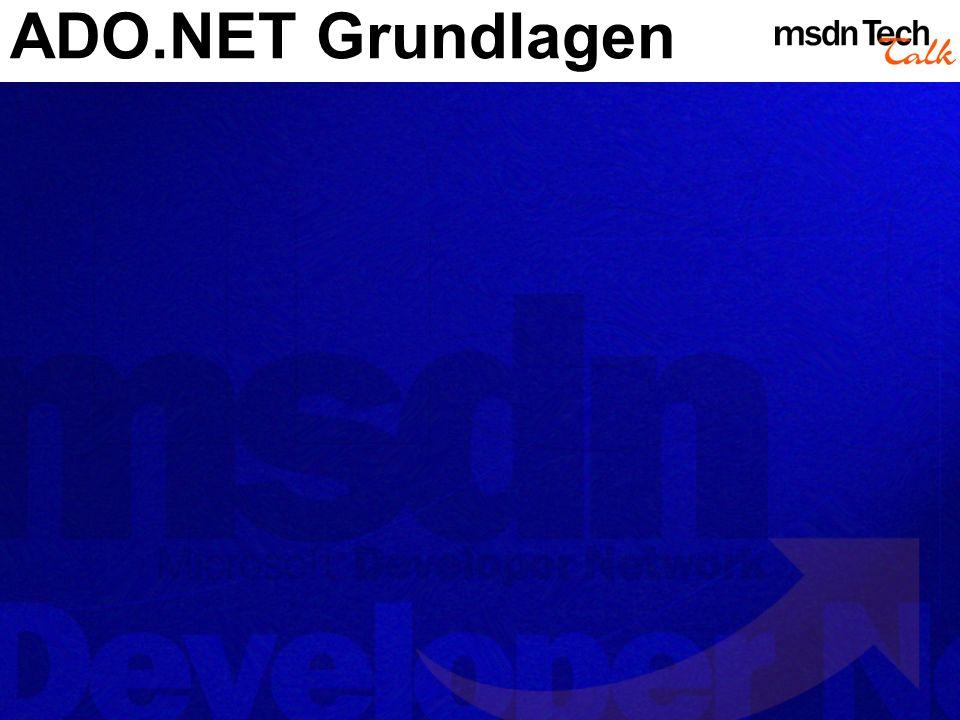 ADO.NET im.NET Framework.NET Plattform.NET Enterprise Servers.NET Devices Web Services Building Blocks