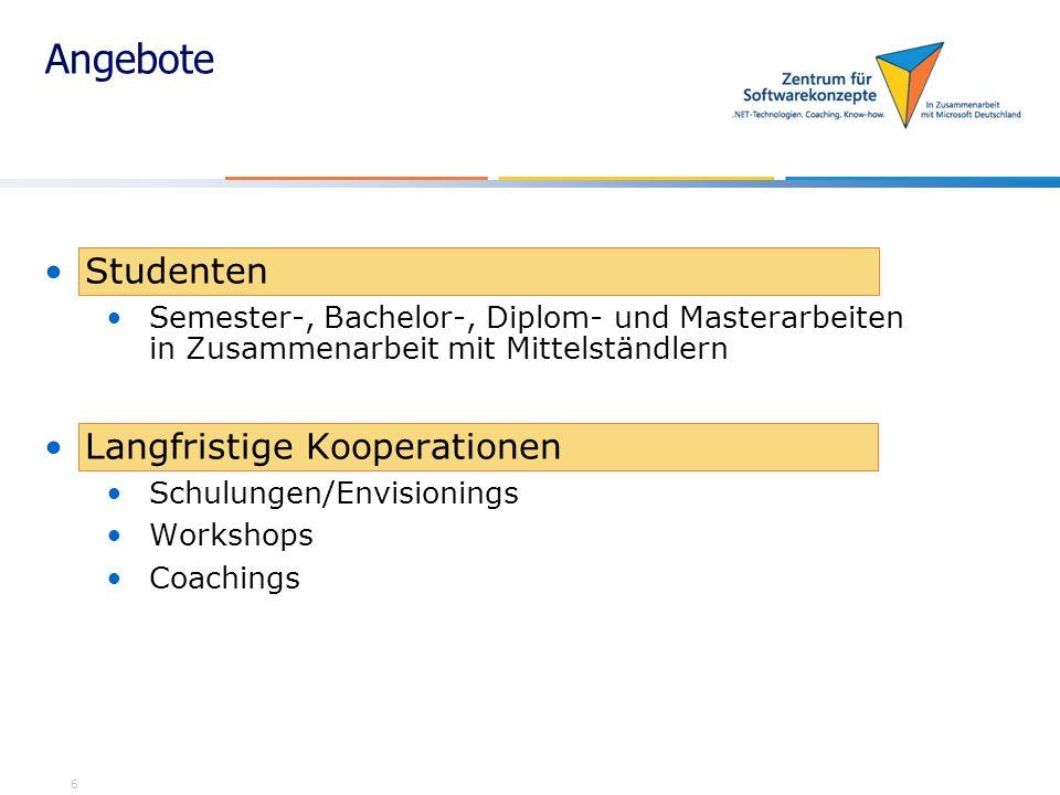 7 Kontakt ZfS München Norbert Diernhofer – I4 Institut für Informatik Boltzmannstr.