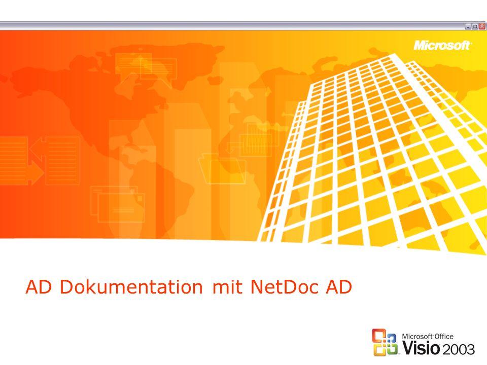 AD Dokumentation mit NetDoc AD