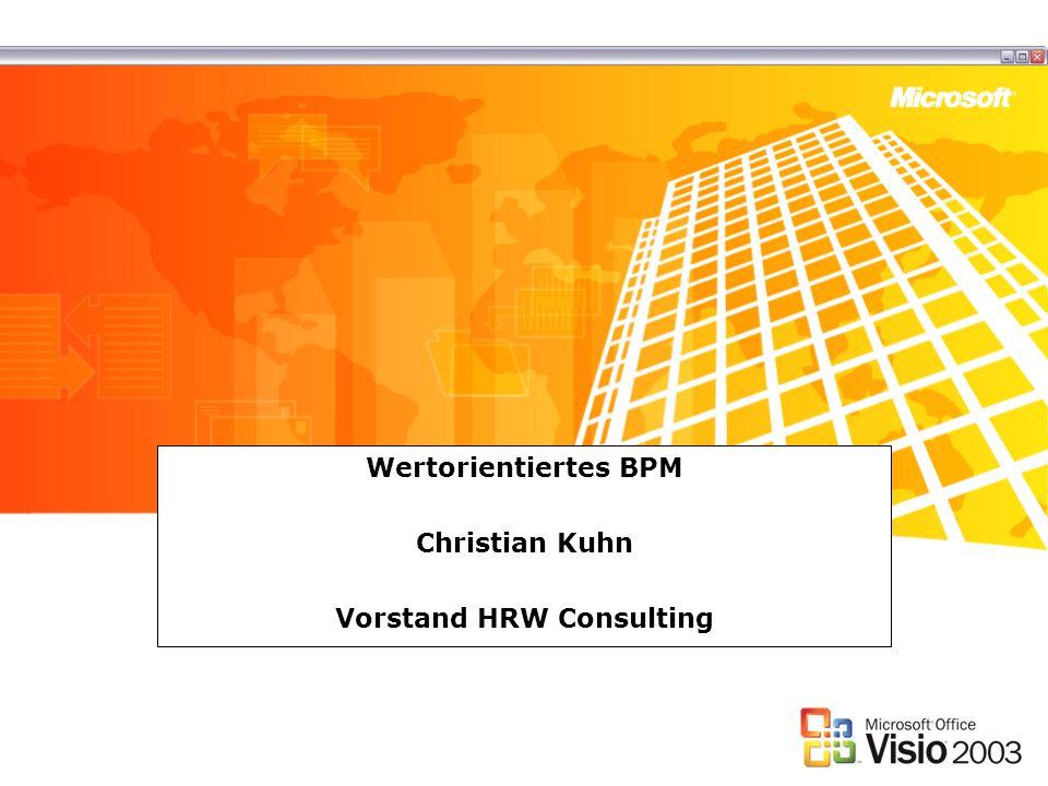 Wertorientiertes BPM Christian Kuhn Vorstand HRW Consulting