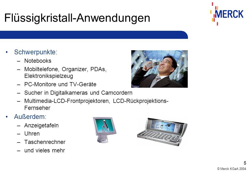 © Merck KGaA 2004 15 Prozessdarstellung DIN ISO 9001:2000