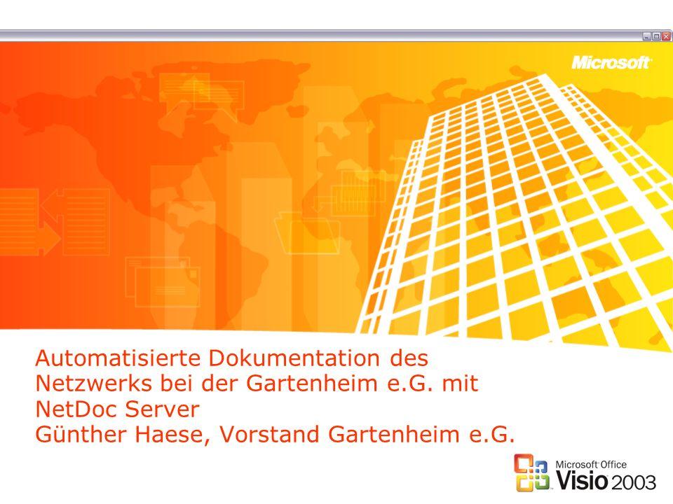 Automatisierte Dokumentation des Netzwerks bei der Gartenheim e.G.
