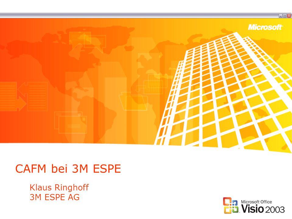 CAFM bei 3M ESPE Klaus Ringhoff 3M ESPE AG