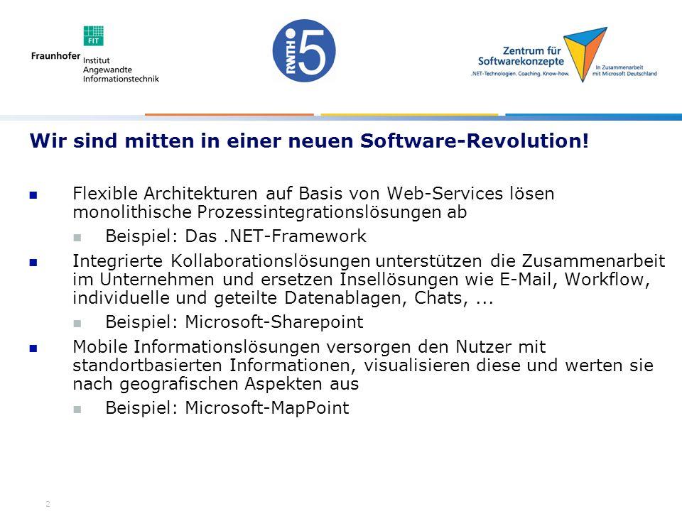 2 Wir sind mitten in einer neuen Software-Revolution.
