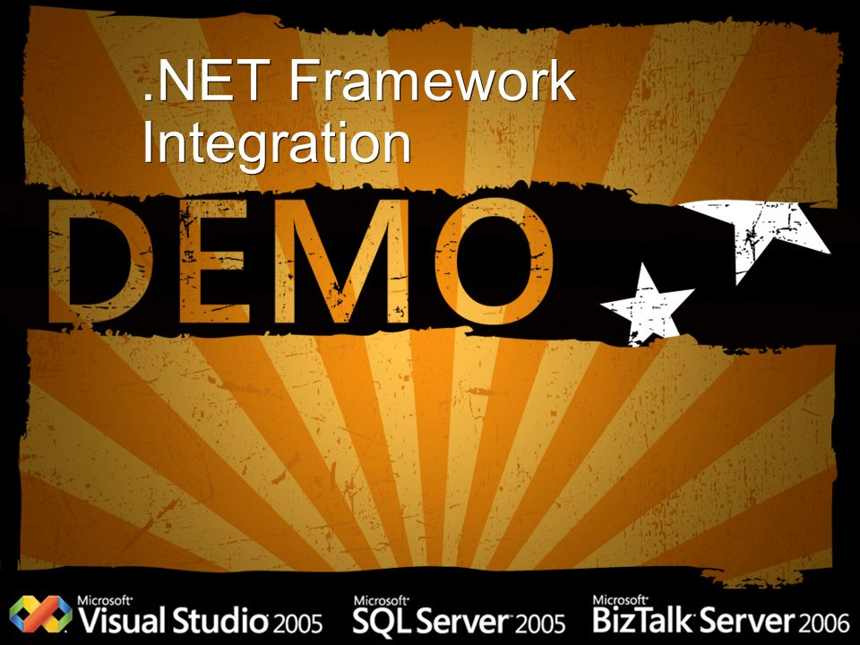 .NET Framework Integration