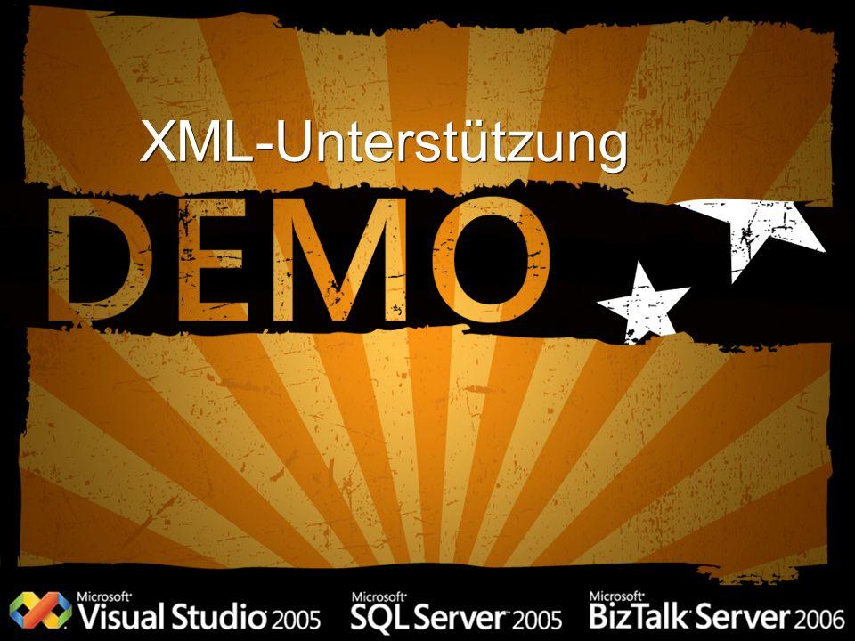 XML-Unterstützung