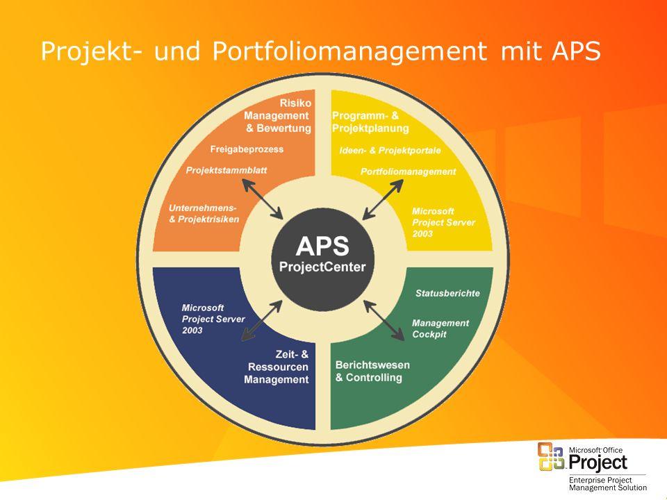 Projekt- und Portfoliomanagement mit APS