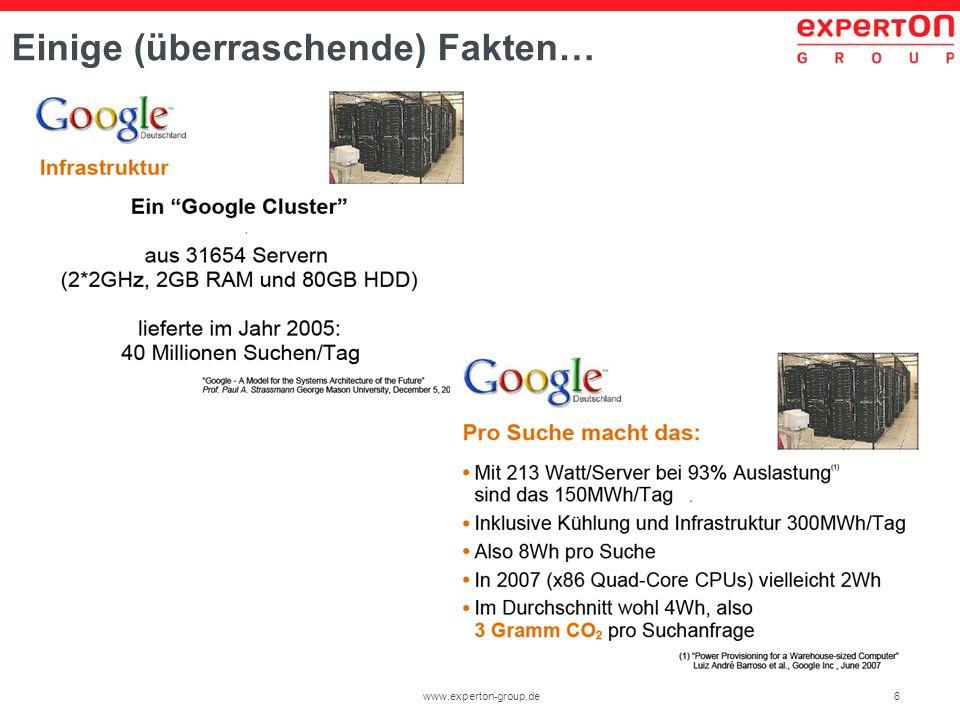 6www.experton-group.de Einige (überraschende) Fakten…