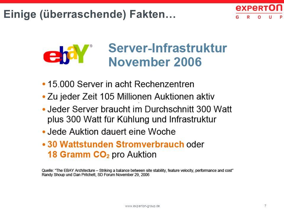 7www.experton-group.de Einige (überraschende) Fakten…
