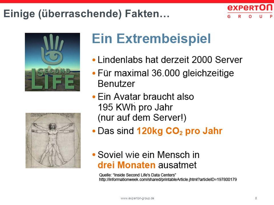 29www.experton-group.de Wie hoch schätzen sie das Potential für Energieeinsparungen durch die Verwendung optimaler Hardwarekomponenten, Klimatisierung und Abwärmenutzung für Ihr Unternehmen ein.