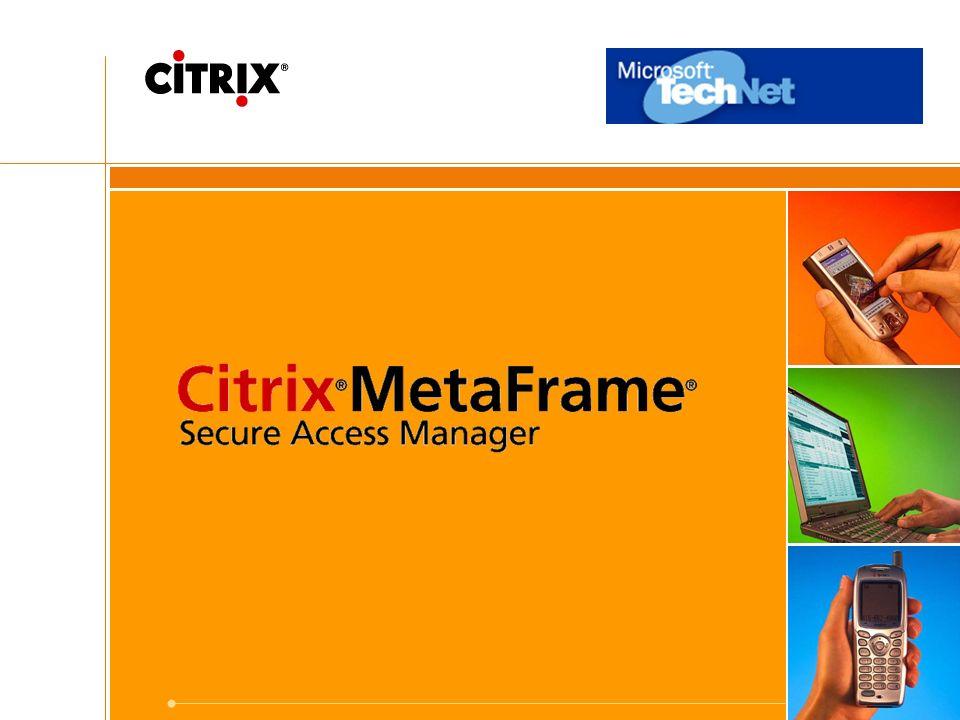 21 Citrix ® MetaFrame ® Presentation Server für UNIX ® Version 1.2 Highlights: –Unterstützung weiterer Server-Plattformen: IBM® AIX® 5.1 & 5.2 Sun Solaris 9 SPARC HP-UX® 11i –Unterstützung von RSA SecureID® –Lizenz Pooling über verschiedene Subnetze