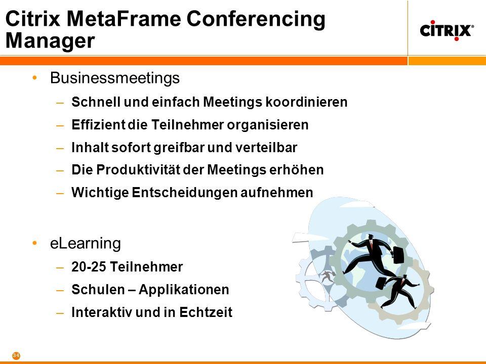 Die Meeting und Präsentations- Lösung Conferencing Manager