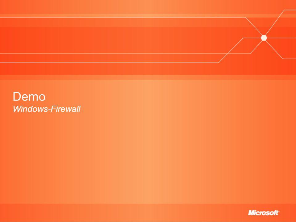 Demo Windows-Firewall