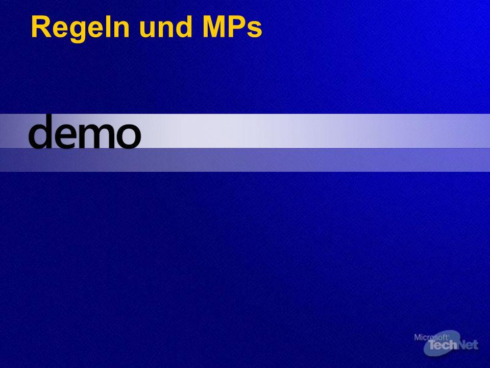 Regeln und MPs