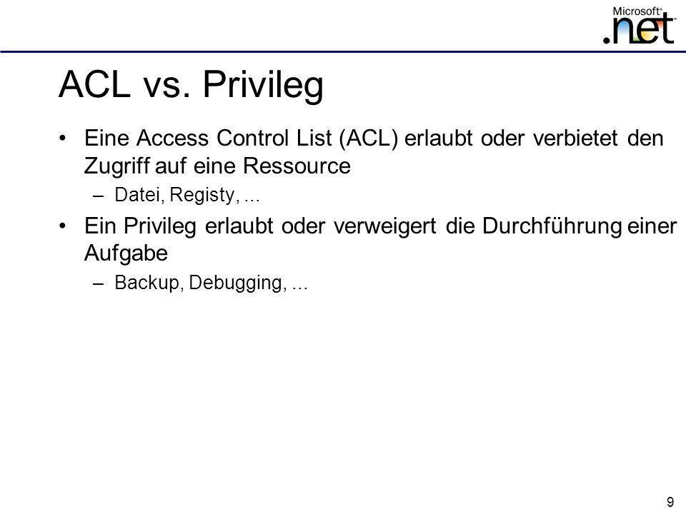 9 ACL vs.