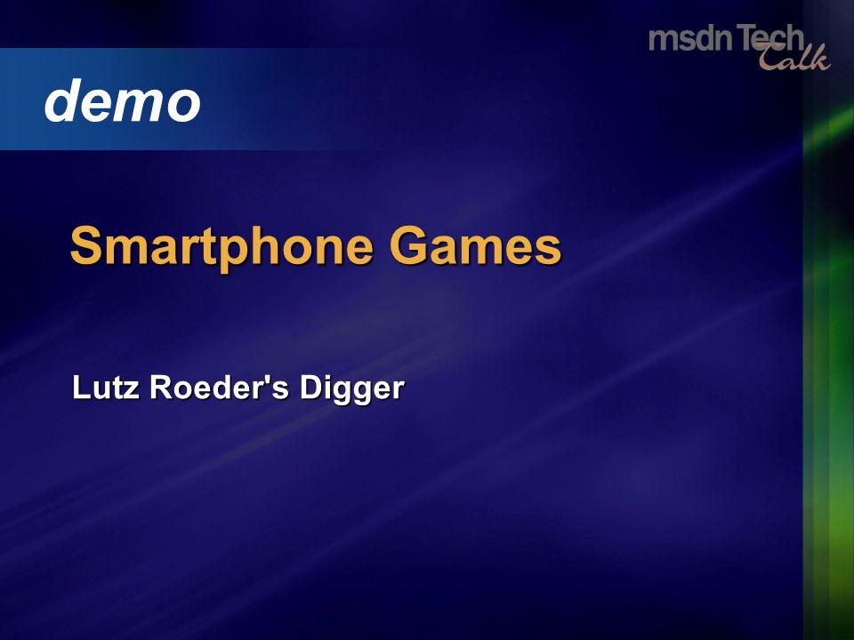 Lutz Roeder's Digger demo Smartphone Games