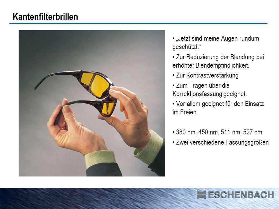 Kantenfiltervorhänger solar comfort 450 nm 511 nm 527 nm 550 nm