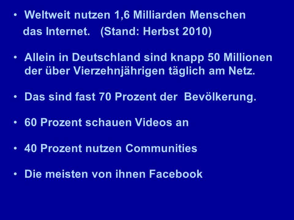 Wer geht wann ins Netz? Quelle: ARD/ZDF-Onlinestudie