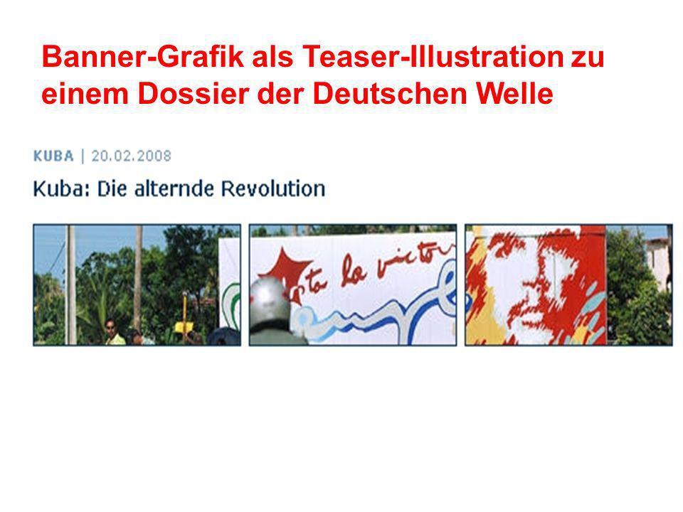 Banner-Grafik als Teaser-Illustration zu einem Dossier der Deutschen Welle