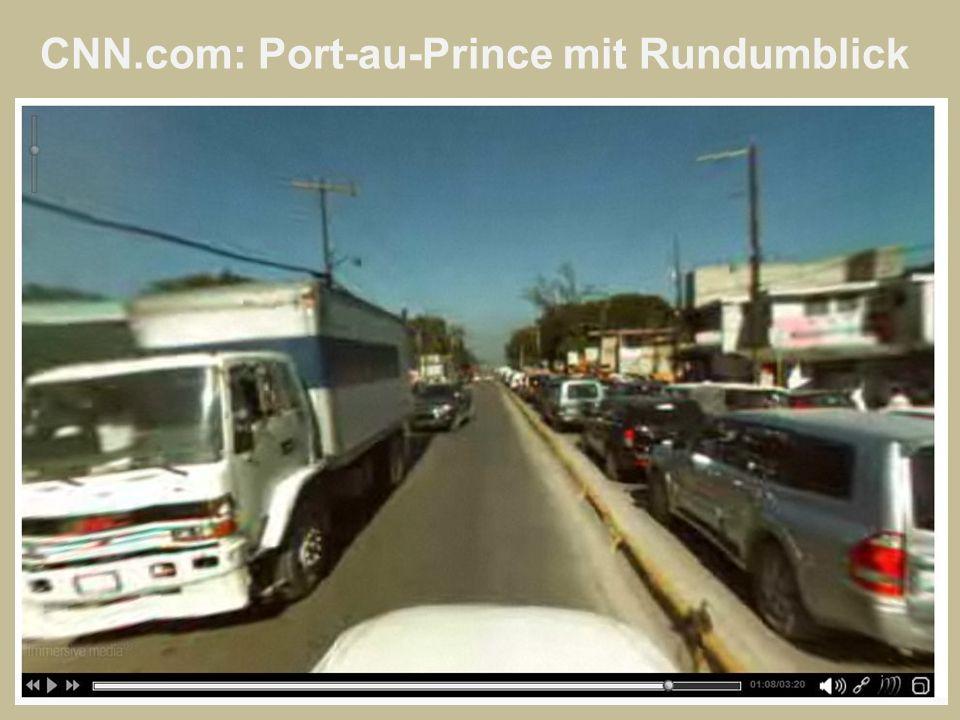 CNN.com: Port-au-Prince mit Rundumblick