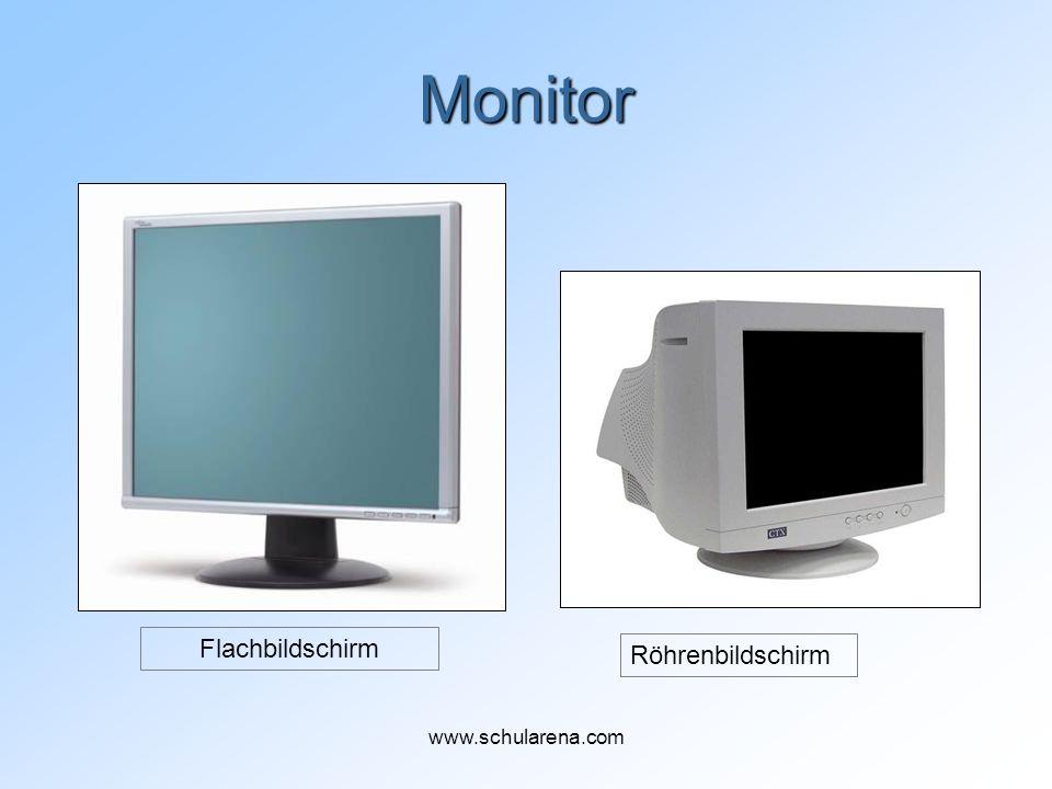 Monitor Röhrenbildschirm Flachbildschirm www.schularena.com