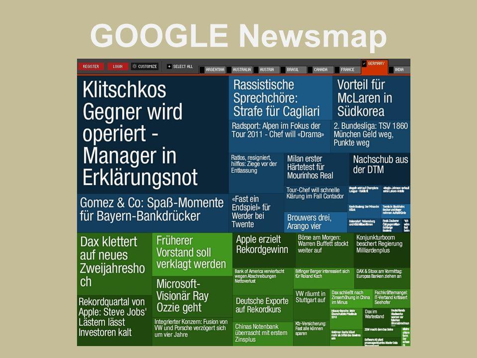 GOOGLE Newsmap