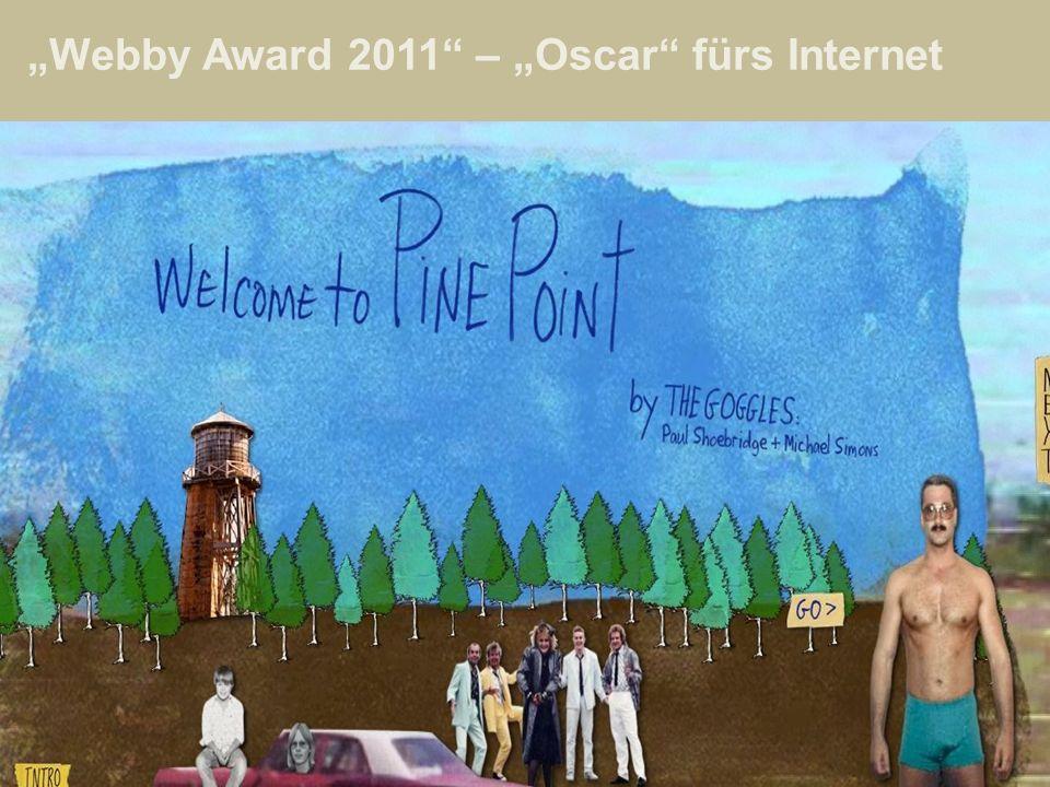 Webby Award 2011 – Oscar fürs Internet
