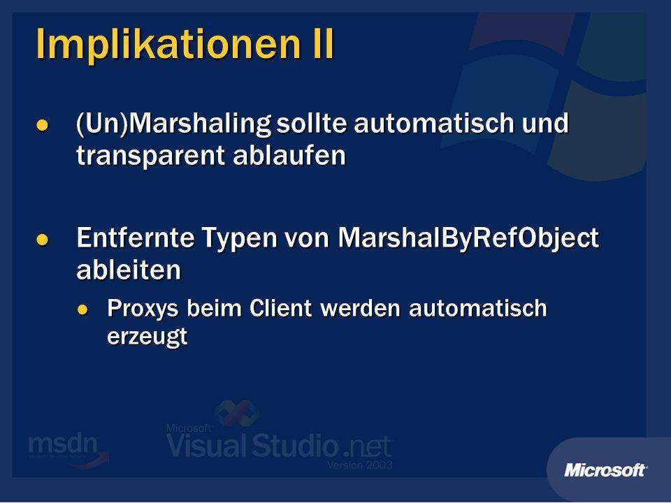 Demo Entfernter Typ Entfernter Typ Transparent Proxy Transparent Proxy