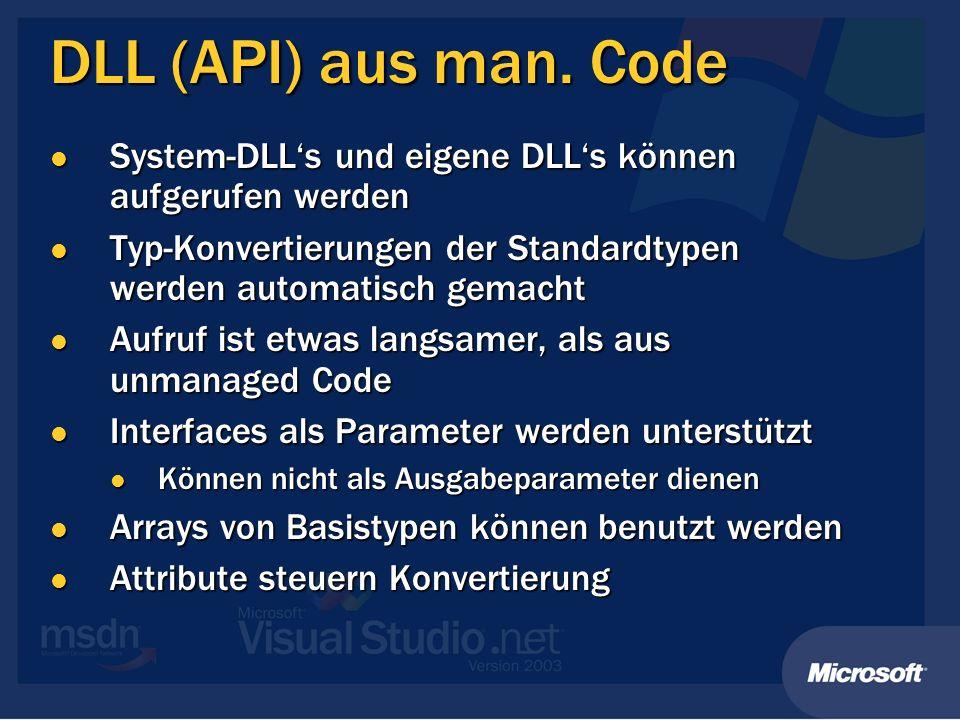 DLL (API) aus man.