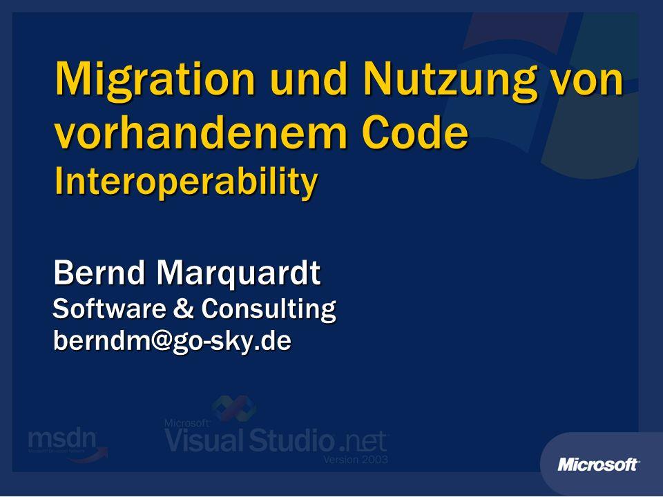 Bernd Marquardt Software & Consulting berndm@go-sky.de