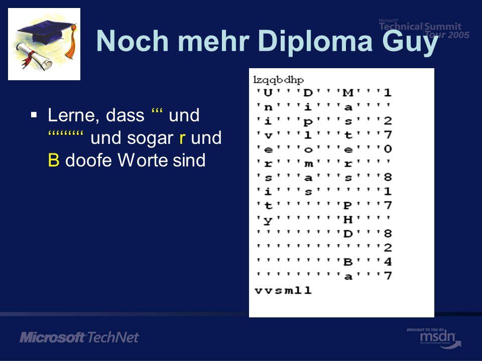 Diploma Guy Word Obscuring Dplmoia Pragorm Carete a mroe prorpseous Lerne, dass Carete, mroe, flul alles ziemlich doofe Worte sind