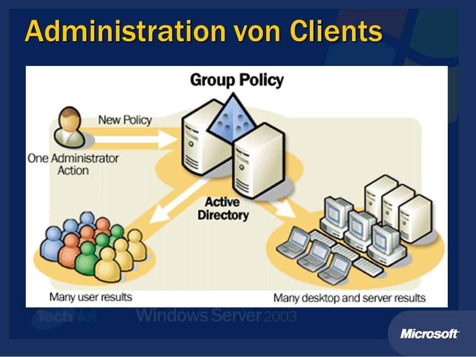 Administration von Clients