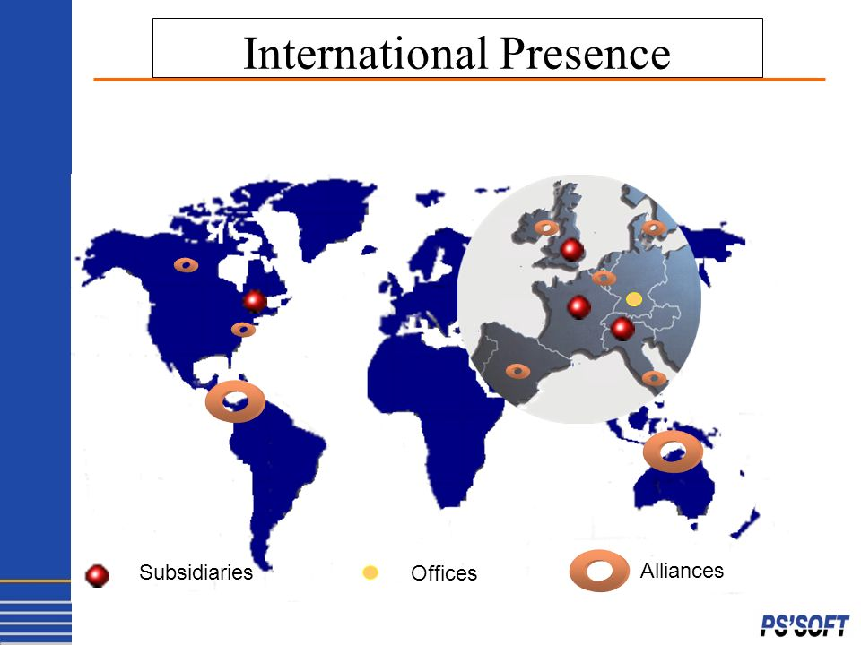 Subsidiaries Offices Alliances International Presence