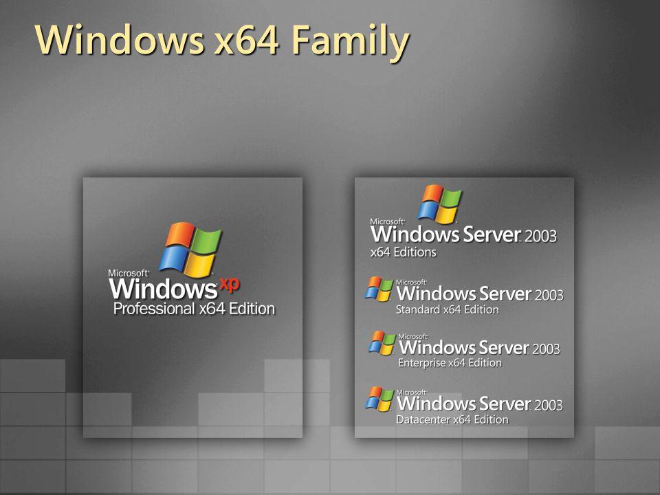 Windows x64 Family